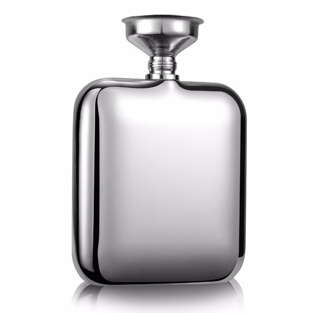 Top Grade Stainless Steel Whiskey Flask Mini Type Hip Pocket Portable Travelling Tools Practical For Wine Lover Free Shipping