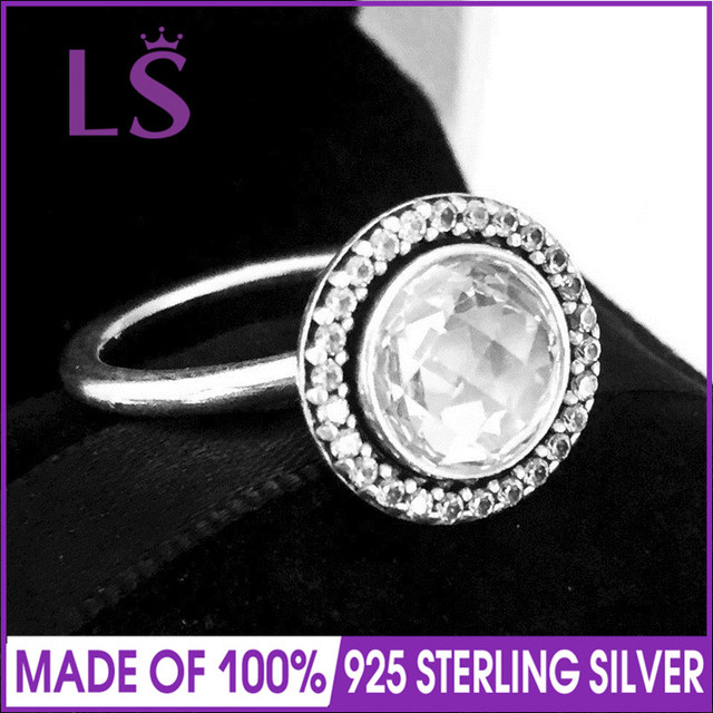 77b790658 LS 100% 925 Silver Brilliant Legacy Ring For Lady Fashion Jewelry.Christmas  DIY Making Accessories. Rings for Women. pulseira N