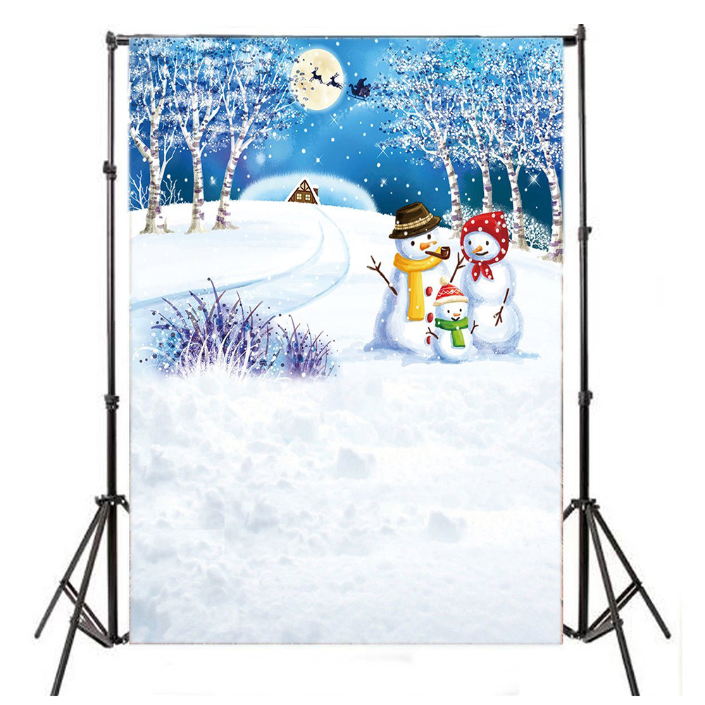 Thin Vinyl Studio Christmas Backdrop CP Photography Prop Photo Background 5x7FT WSD118 Colour: 5X7FT WSD118 shanny autumn backdrop vinyl photography backdrop prop custom studio backgrounds njy33