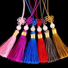 5cm Chinese knot Tassel Pendant Crafts Home Decoration key tassels for Silk Tassels Characteristics Gift Ornaments