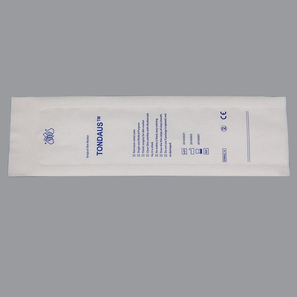 Single use skin markers