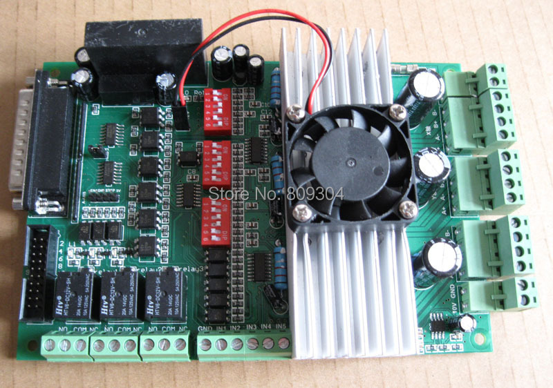 3 axis 4 5a tb6600 cnc stepper motor driver controller for Cnc stepper motor controller