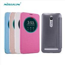 Nillkin Sparkle Series кожаный чехол флип чехол для Asus Zenfone 2 ZE551ML ZE550ML 5.5 дюймов мобильного телефона сумки