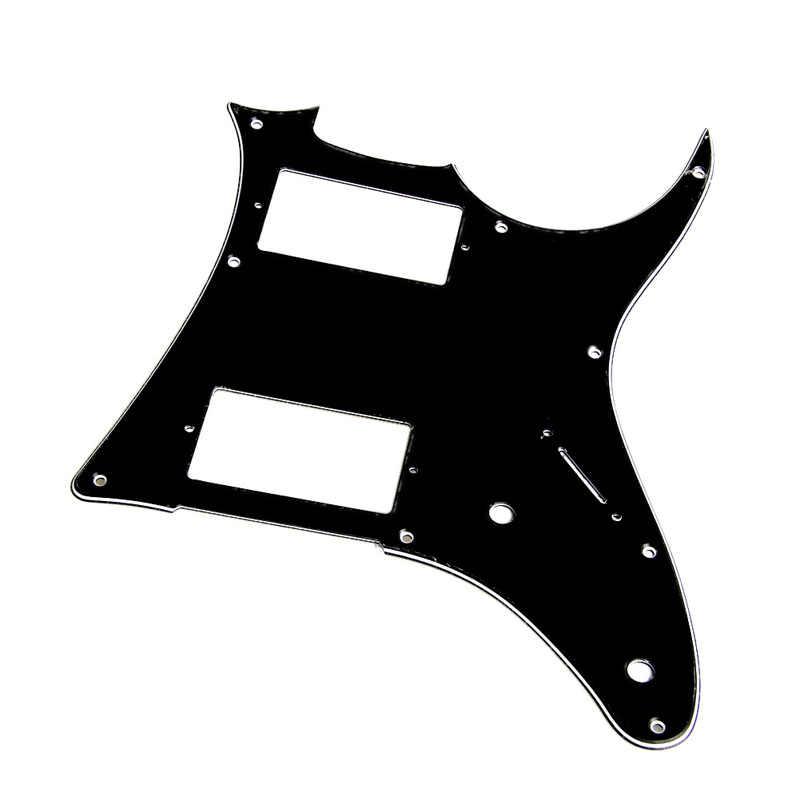 1 pc גיטרה 3ply pickguard עבור ibanez grx20z חלקי גיטרה חלקים שחור