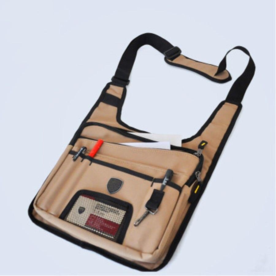 Oxford Cloth Tool Bag Multi-Pocket Design Electrician Bag High Quality Multi-Function Meter Reading Dedicated Tool Bag