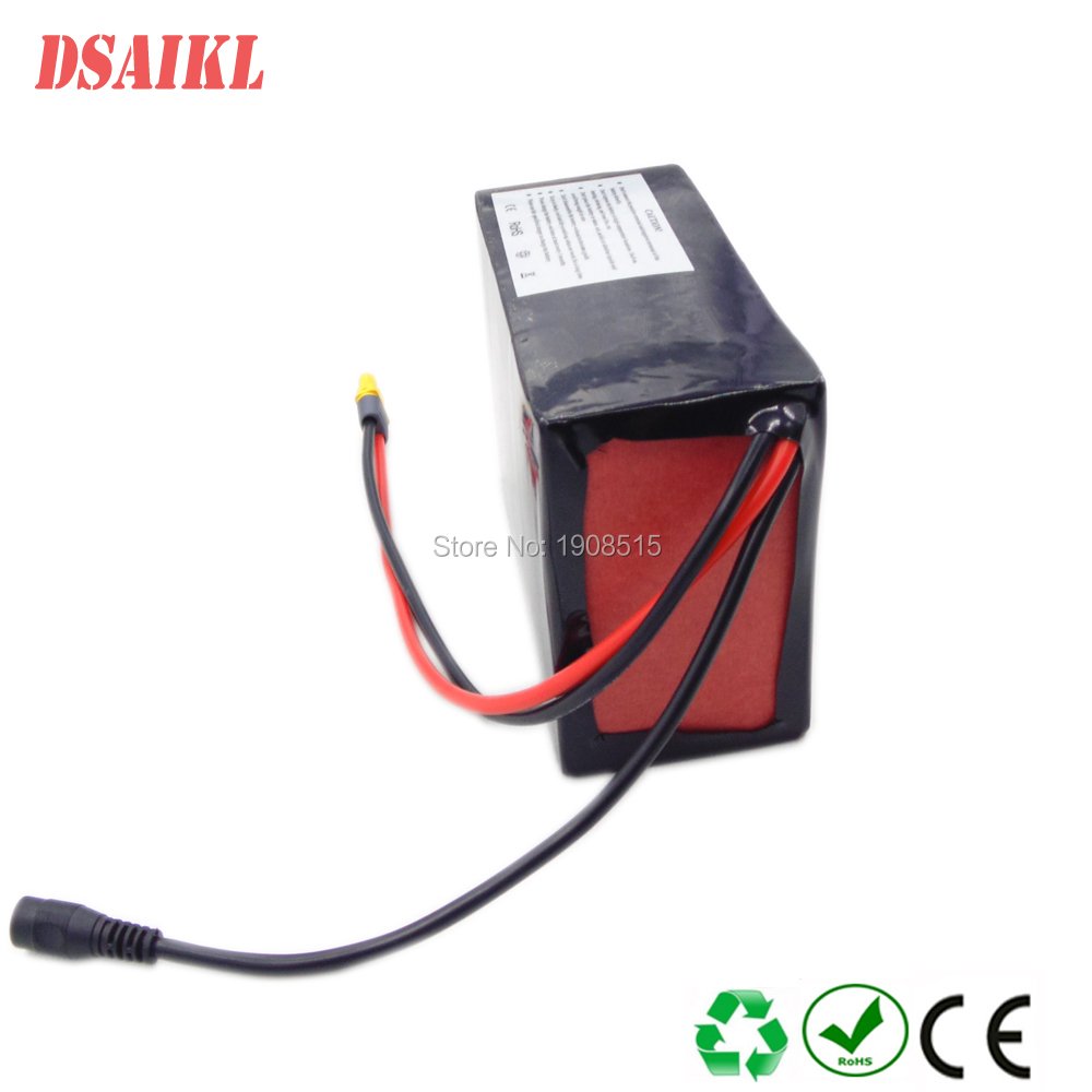13s10p бренд Корея 18650 48 В 30ah литий ионный аккумулятор с BMS и зарядное устройство для 500 Вт 750 Вт 1000 Вт Ebike