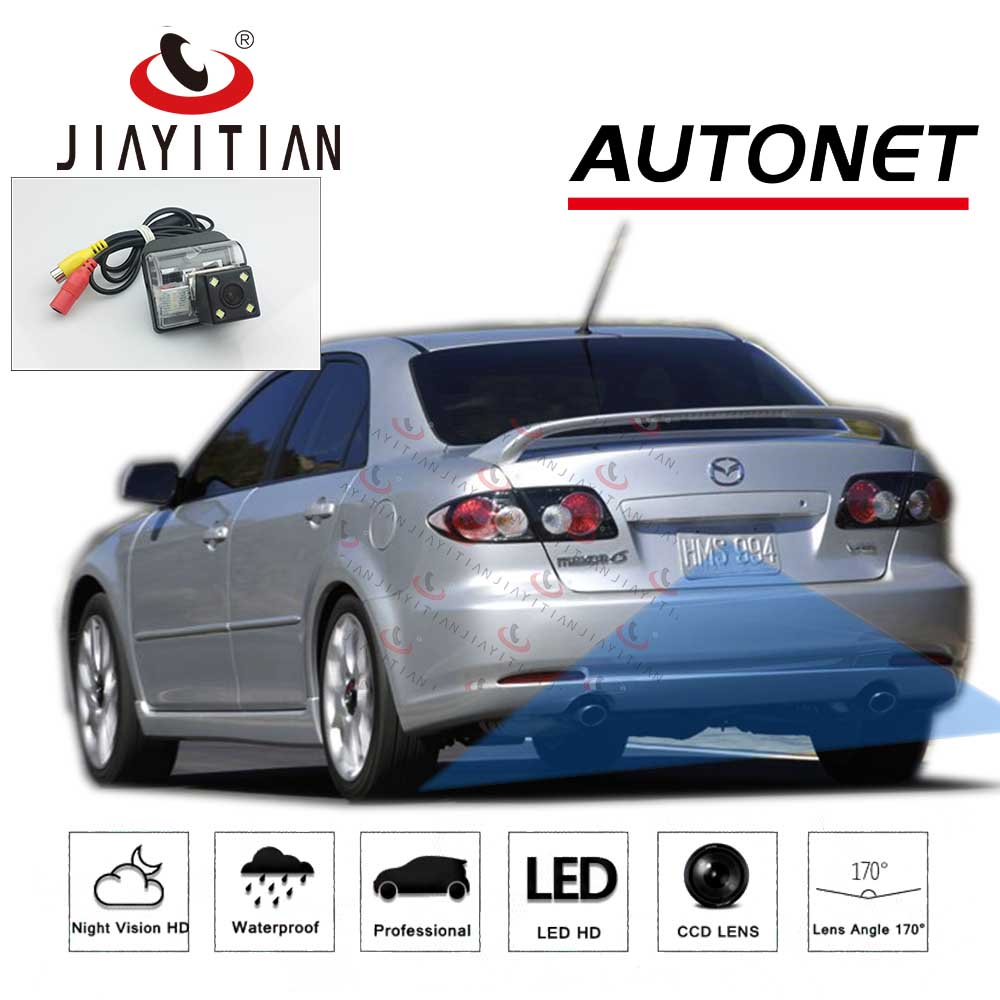 JiaYiTian Rear Camera For Mazda 6 GG1 2002~2006 2007 2008 2009 2010 2011 2012 GG GY Wagon CCD Night Vision Reverse Backup Camera