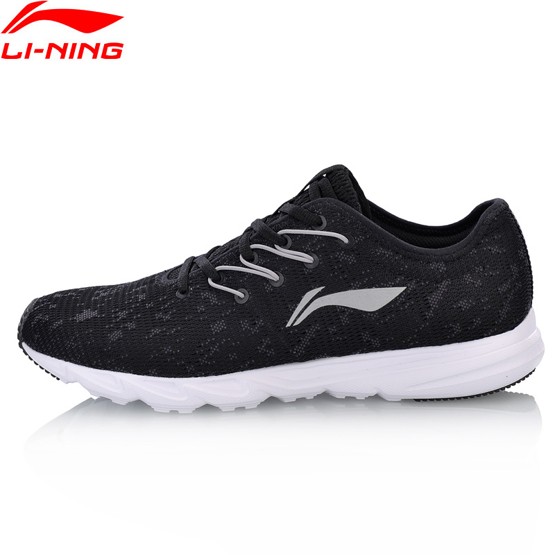 Li-Ning Men EZ RUN Running Shoes Breathable Wearable LiNing Light Weight Sport Shoes Comfort Sneakers ARBN021