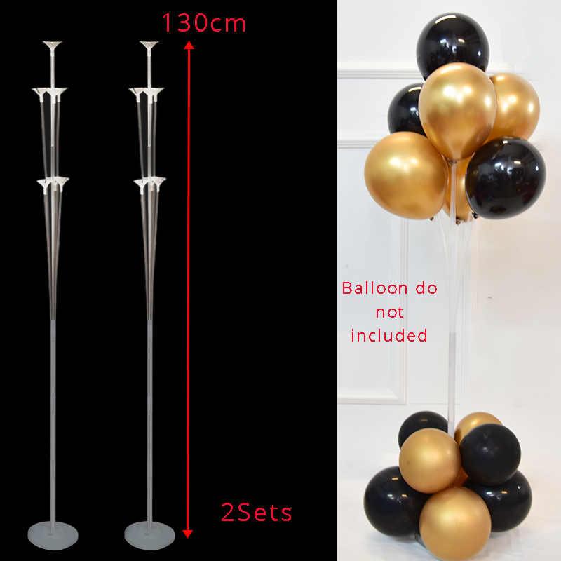 Balony na imprezę urodzinową stojak na balon uchwyt na kolumnę plastikowy patyczek do balonika dekoracje na imprezę urodzinową dla dzieci balon weselny dla dorosłych