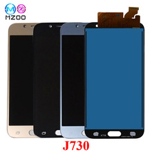 J730 LCD For Samsung Galaxy J7 Pro 2017 J730 J730F J730M J730GM J730G LCD Display Touch Screen Digitizer Assembly LCD Pantalla j7 pro lcd screen replacement for samsung galaxy j7 2017 touch screen j730 j730f lcd display digitizer assembly with adhesive to