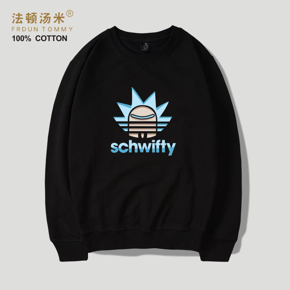 Frdun Tommy Rick and Morty Cartoon Capelss Women/Men Popular Sweatshirt Hoodies Sweatshirt Women/Men Hoodies Winter Clothes