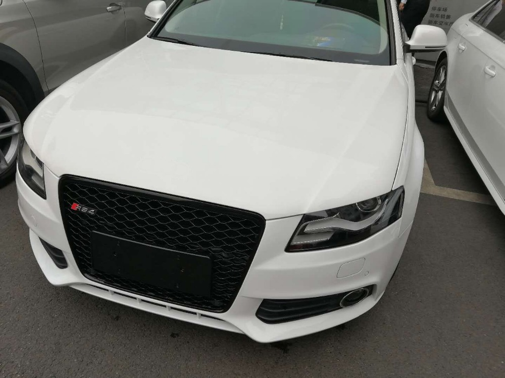 Chrome Frame Mesh Sport Grill Grille RS4 Style Fit For Audi (fit for A4 B8 S4 RS4 08-12) туринг 1 10 rs4 sport 3 drift subaru brz