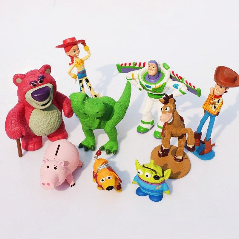 6pcs lot Toy Story Figure Toy Woody Buzz Lightyear Jessie Alien ... 40a5d6b32f7