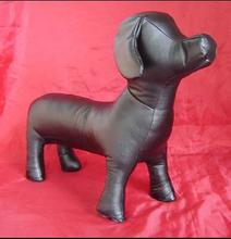 wholesale dog body mannequin Pet Products Model,Dog model,High Quality PVC Leather Dog Mannequin clothes Toys 1pc M00475