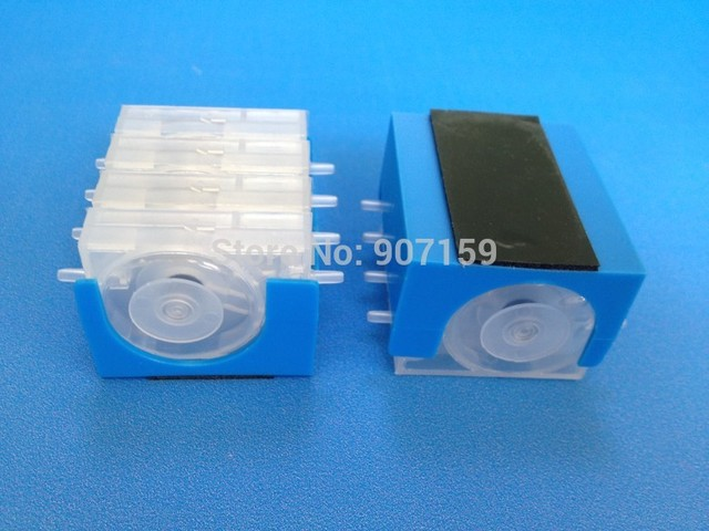 US $35 88 |Free shipping 4 color ciss damper for hp canon ciss, one way  valve ink flow control damper with cover base 40pcs