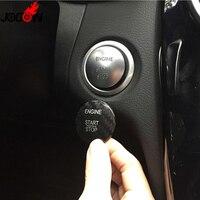 For Mercedes Benz R Class W251 R350 R400 R500 Carbon Fiber Start Stop Engine Button Key Trim Sticker Cover