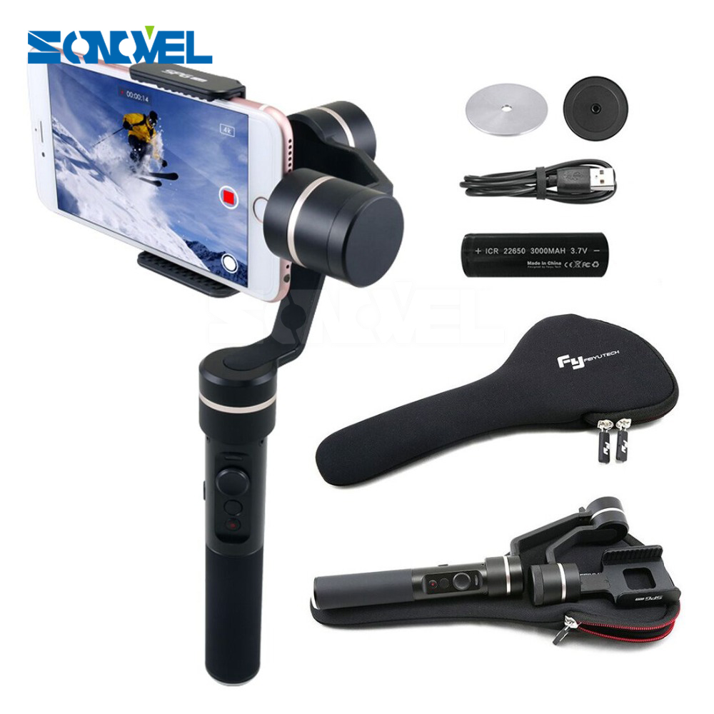 Feiyu SPG Live 3 Axle 360 degree Limitless Handheld Gimbal Stabilizer For iPhone 7/6 Plus/6/5s/5c HUAWEI etc