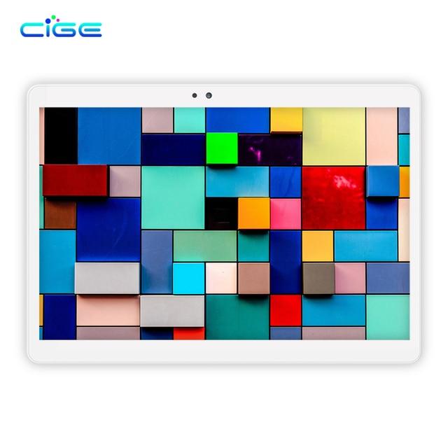 CIGE M9 LTE/WiFi 4GB RAM 64GB ROM 10.1'' Tablet PC Octa Core Android 6.0 1920x1200 Full HD IPS Screen GPS Bluetooth metal back