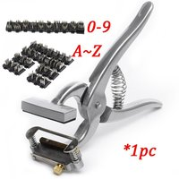 Pig Sheep Dog Use 5 Characters Printing Livestock Management Tools Animal Tattoo Kit with 0 9 A Z