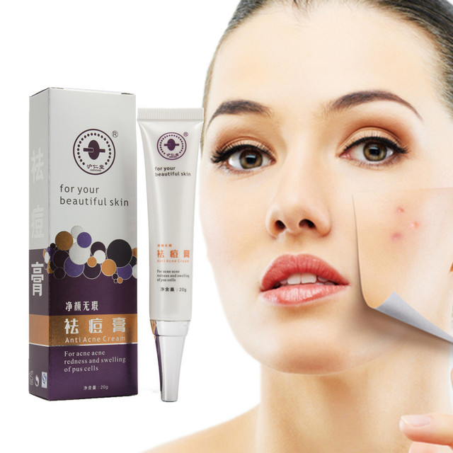 Face Care Acne Treatment Essence Whitening Redness Swelling Blackhead Remover Skin Care Mite Scars Remove Freckles Acne Cream