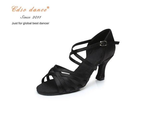 black 5.5cm heel