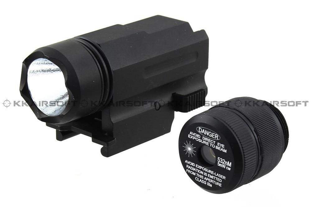 Pistol Red Laser & CREE LED Flashlight combo [X3000B]