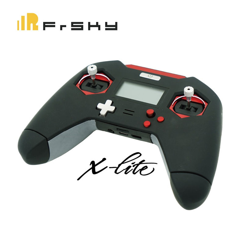 FrSky Taranis X-LITE 2.4GHz ACCST 16CH RC Transmitter Remote Control Red Black for RC Models Multicopter Racing Drone Spare Part frsky accst taranis q x7 transmitter remote control 2 4g 16ch white black international version for rc multicopter bnf rc model