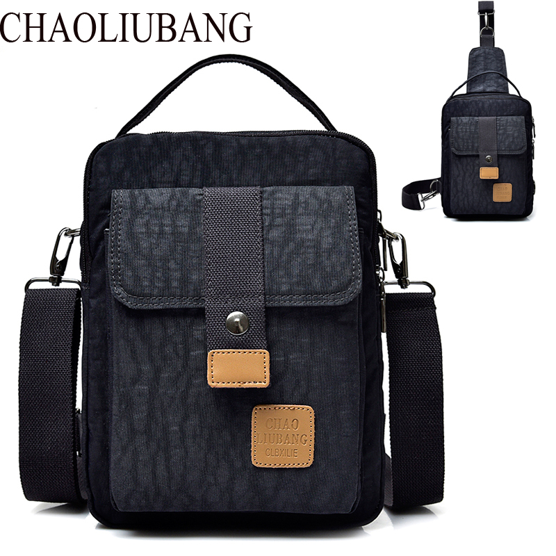 Fashion Nylon crossbody Handbag men's chest travel bag casual Men messenger bags High Quality Luxury Brand Man Shoulder bag new fashion man bag high quality nylon men messenger bags black famous brand waterproof male shoulder crossbody bag fb3102