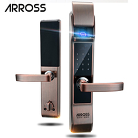 ARROSS Electronic Security Touch Keypad Password Door Lock Smart Digital Electronic Combination Password Lock Door For Home