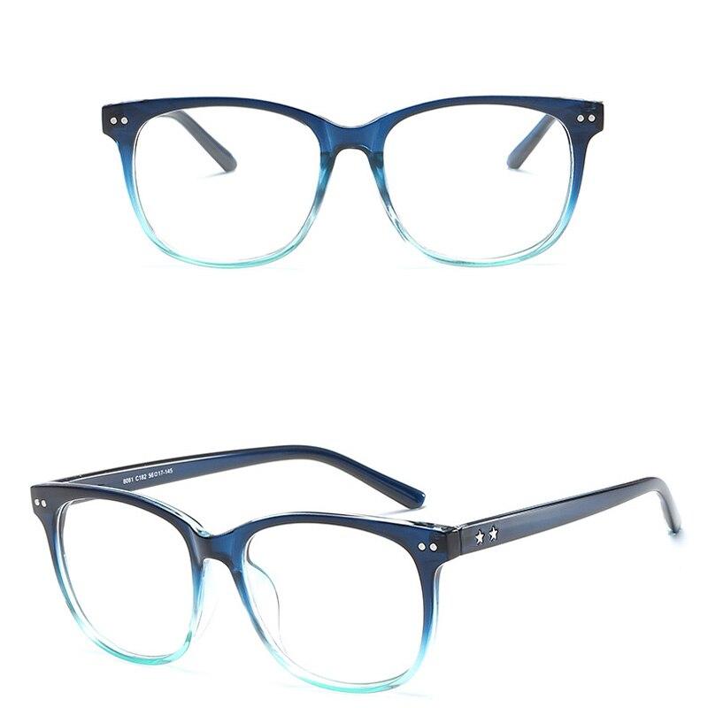 Men's Eyewear Frames Iboode Clear Lens Glass Frame Anti Blue Ray Surfing Eye Protective Glasses Plain Glasses Men Women Student Eyeglasses Eyewear