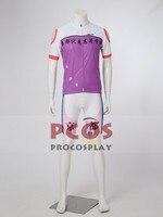 Yowamushi Pedal Kyoto Fushimi High School Akira Midousuji Cosplay Costume Bicycle jersey mp002747