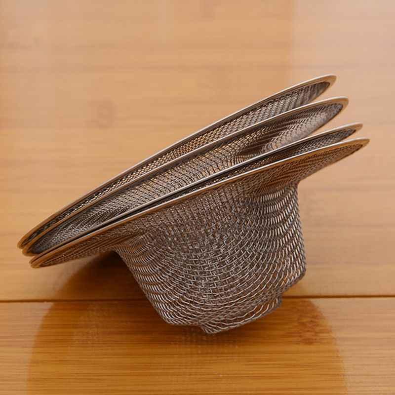 حوض مطبخ ستنلس ستيل مصفاة الشعر الماسك سدادة حوض استحمام للاستخدام في الحمام دش استنزاف تصفية Percolator