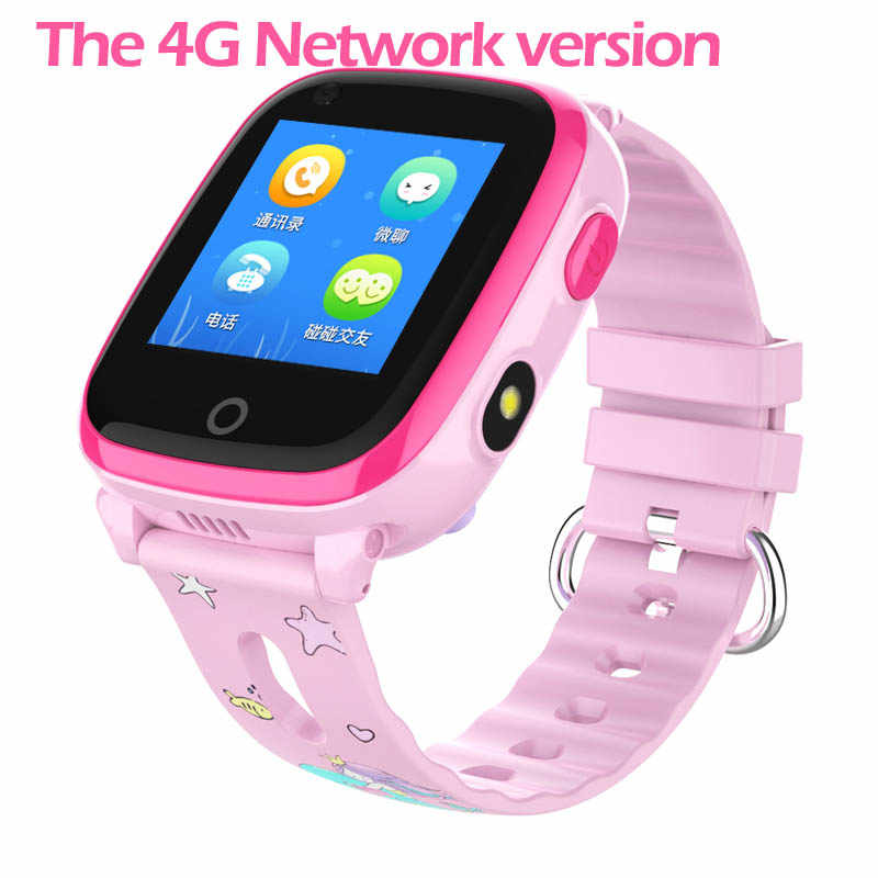 IP67 Waterproof DF33 Smart watch 4G Remote Camera GPS WI-FI Kids Children Students Wristwatch SOS Video Call Monitor Tracker