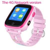 IP67 Waterproof DF33 Smart watch 4G Remote Camera GPS WI FI Kids Children Students Wristwatch SOS Video Call Monitor Tracker