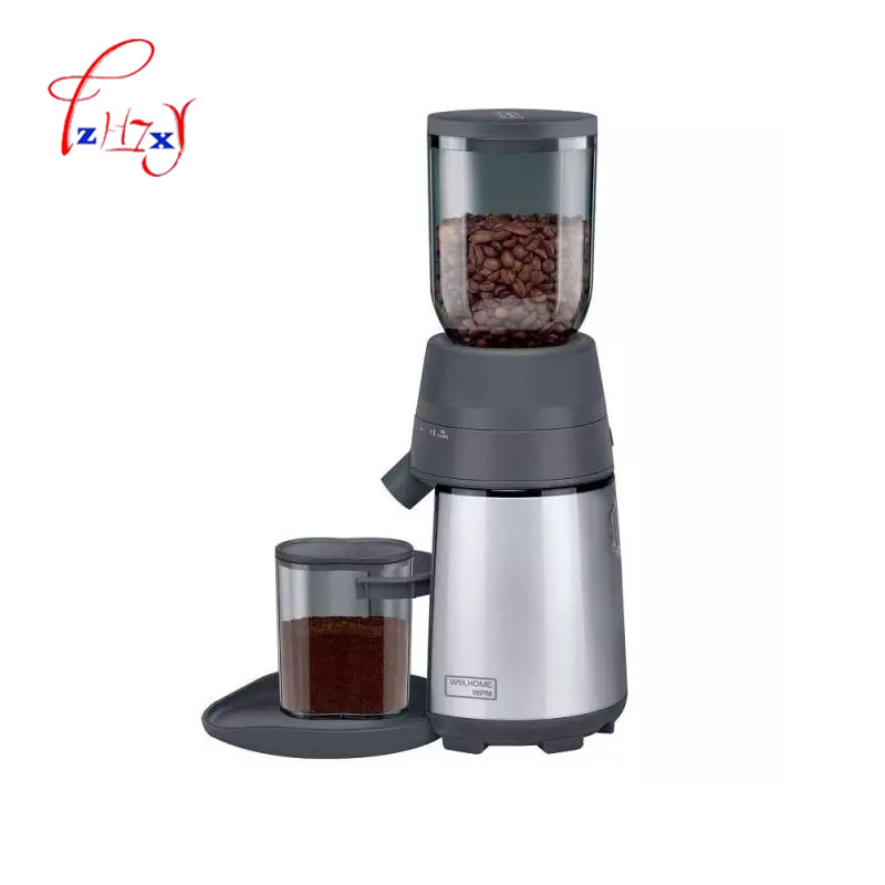 home Electric Coffee Grinder Conical Coffee Bean grinder Home Kitchen Mini 220v Automatic Coffee Grinder ZD-12 1pc automatic home electrical coffee grinder electro dosing on demand conical espresso grinder cafe grinder 220v 130w 1pc