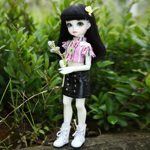 Image 3 - BJD Dolls Momocolor Emily 29cm 1/6 Adorable Cutie High Quality Resin Figure Girl Toys Best Birthday Gifts