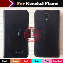 Hot!! Keneksi Flame Case Factory Price Ultra-thin 6 Colors Leather Exclusive For Keneksi Flame Special Phone Cover+Tracking