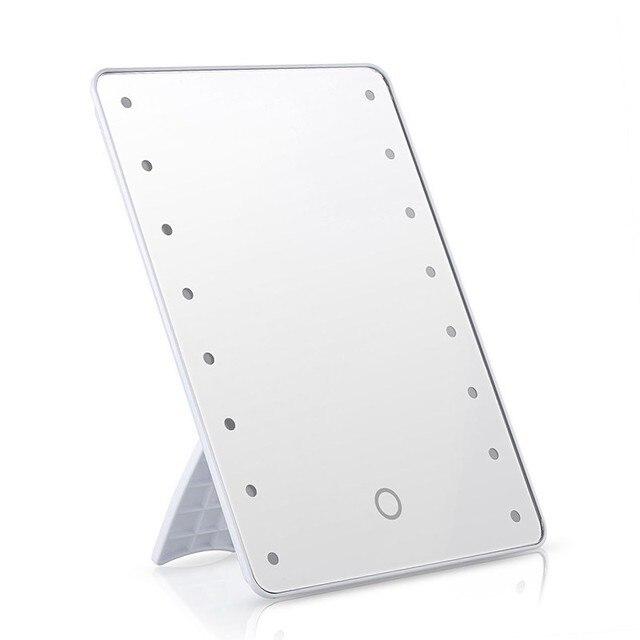 Make up spiegel met led verlichting dimbare touch schakelaar 16 LEDs ...