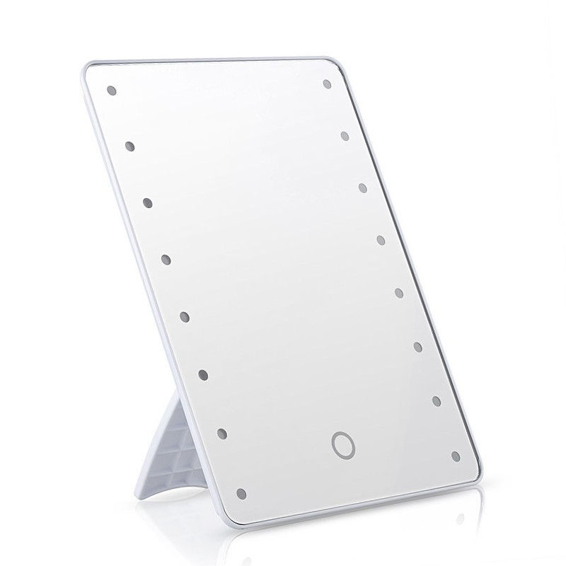make up mirror with led lighting dimmable touch switch 16 LEDs ultra high definition alterble professional cosmetic mirror подвесной светильник leds c4 net 00 0643 bw m1 dimmable
