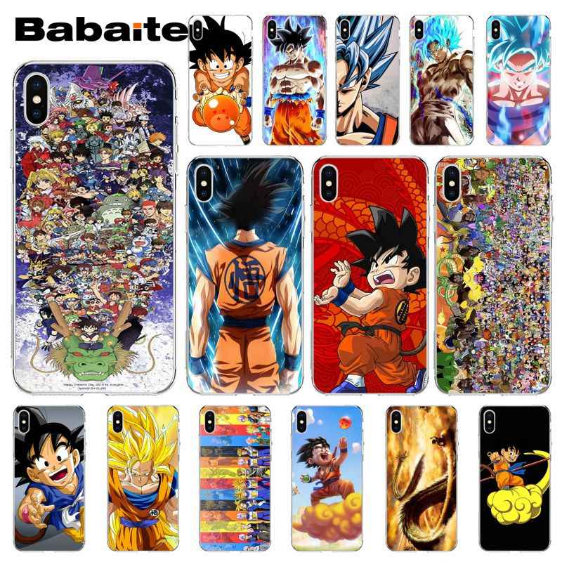 Babaite Dragon Ball z TPU Transparent Phone Case Cover Shell for Apple  iPhone 8 7 6 6S Plus X XS MAX 5 5S SE XR Cellphones