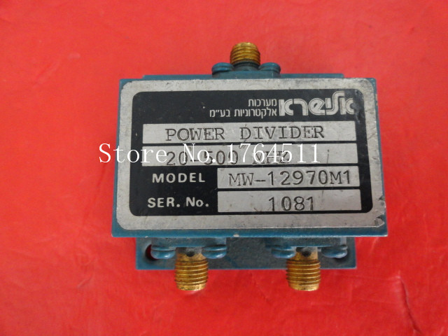 [BELLA] KTEIFK MW12970M1 20-500MHz A Two Supply Power Divider SMA