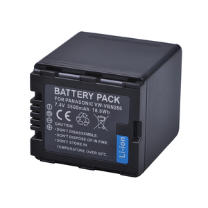 Image 2 - 2Pc Battery VW VBN26 VBN260 Battery for Panasonic VW VBN26 HC X800, HC X900, Panasonic VW VBN390 VBN130 HC X910 HC X920