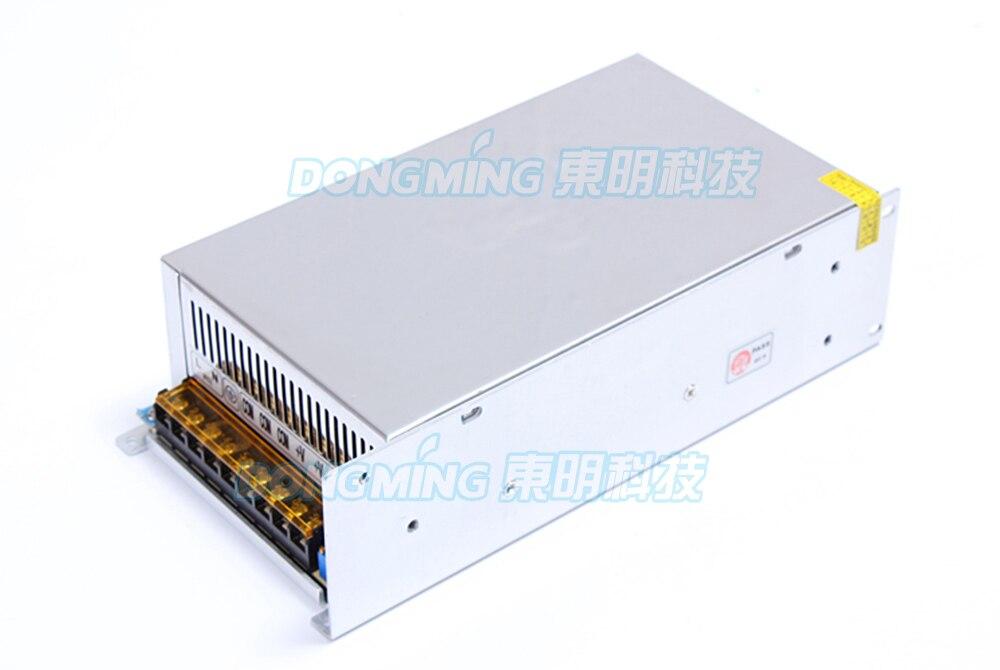 Transformateur électronique mené avec l'alimentation de alimentation Led de ventilateur 220 V 12 V 40A 480 W a mené le conducteur pour le transformateur d'éclairage de bande mené