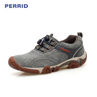 New Winter Men S Boots Leather Outdoor Climbing Shoes Low Top Waterproof Sports Shoes For Camping
