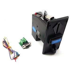 JY-910 мульти PC монетоприемник RS232 импульсный выход монета селектор к com интерфейсу для торгового автомата легко запрограммирован ПК