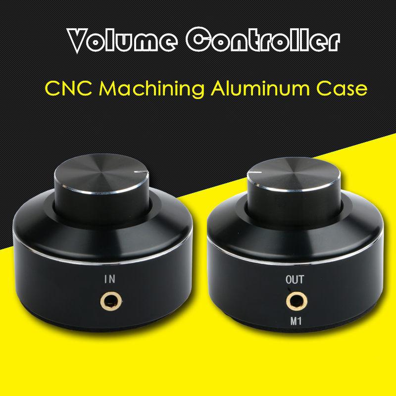 2017 New Nobsound Mini Active Volume Controller 3.5mm Audio Adjuster PC Speaker Amplifier Switcher цена