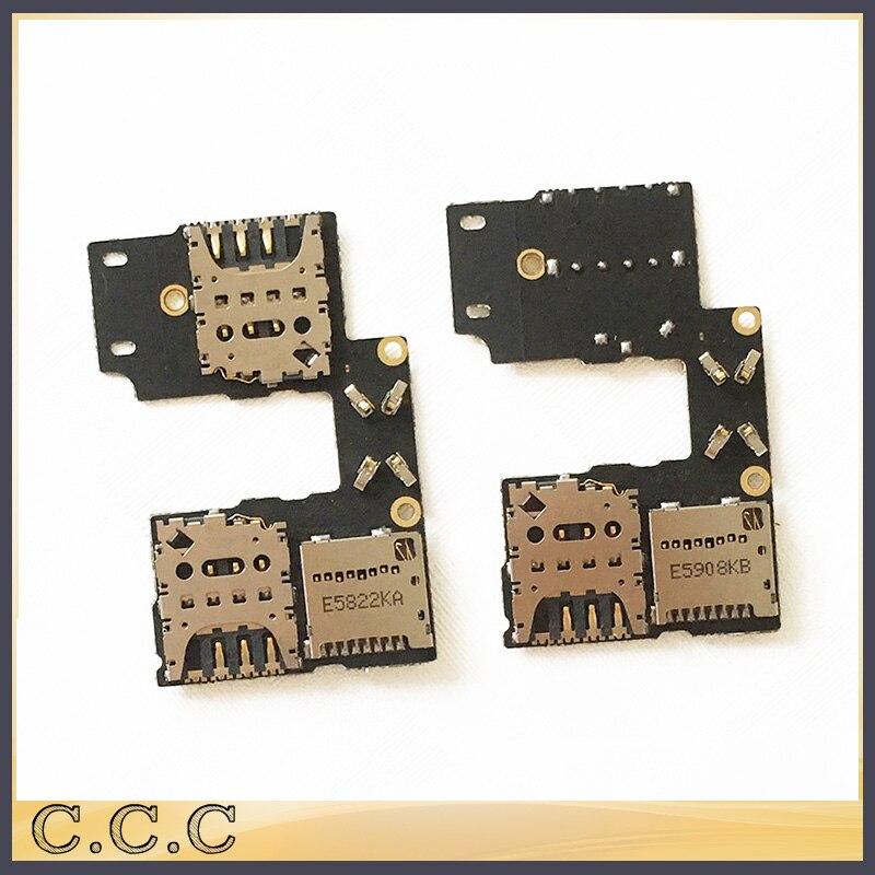 imágenes para 10 unids/lote original para motorola moto g3 xt1055 xt1050 sim titular de la tarjeta de memoria sd micro lector flex junta cable