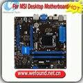 100% lga 1150 ddr3 desktop motherboard para msi z87m-g43 trabalho para i3 i5 i7 cpu 64 gb z87 funcionar perfeitamente