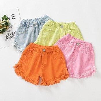 2019 Summer Costume Kids Baby Girls Shorts Jeans Trousers Pants Toddler Girls Shorts Pants For Baby Girls Shorts Camisetas 10 12 1