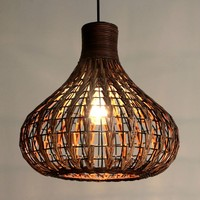 Rattan pendant light restaurant lamp entrance lights balcony lamp chinese style lamp rattan pendant light free shopping